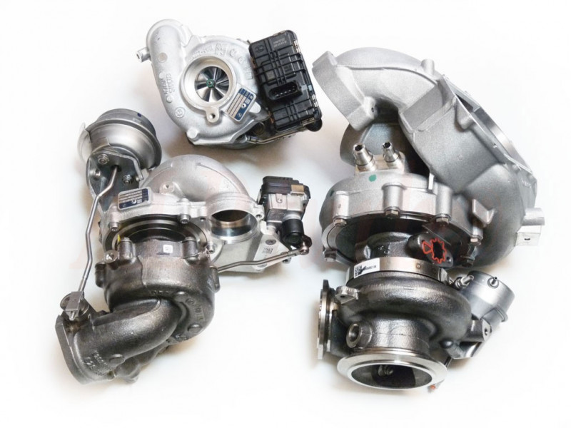 Full BMW Turbo set 12739700018 53039700522 53039700523