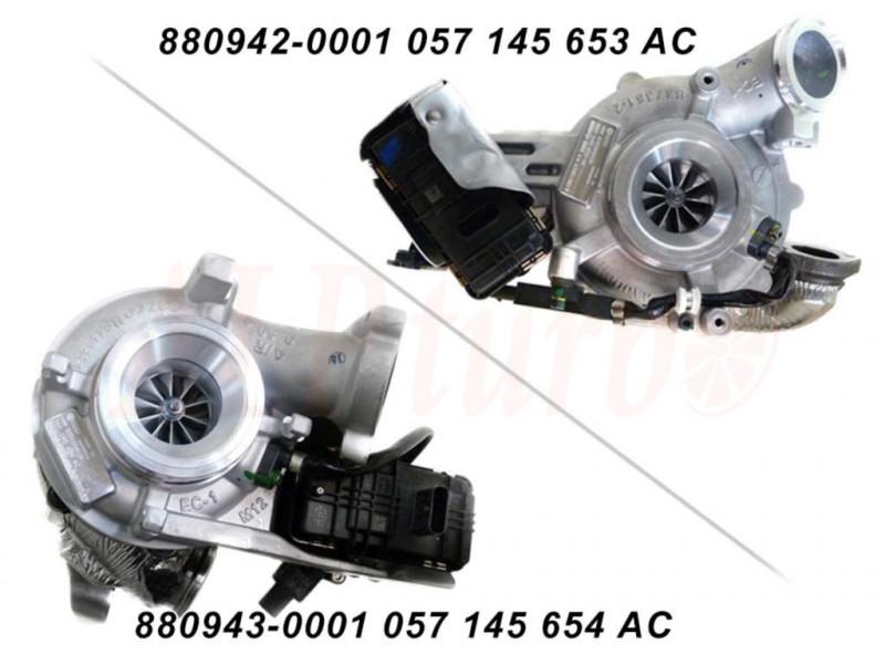 Turbos 880942 057145653AC 880943 057145654AC